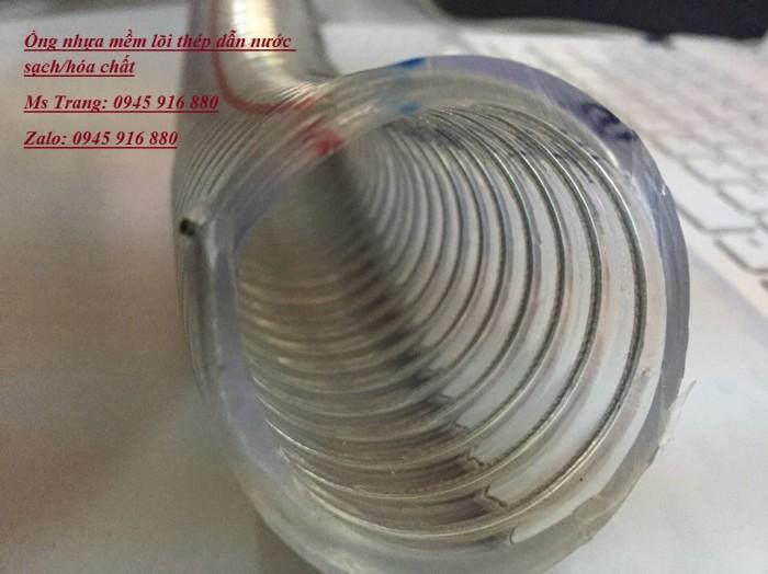 Ống nhựa mềm lõi thép dẫn nước sạch/hóa chất/ dẫn dầu,...32