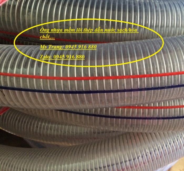 Ống nhựa mềm lõi thép Phi 13 Phi 16 Phi 19 giá tốt nhất Mới 100%, giá36