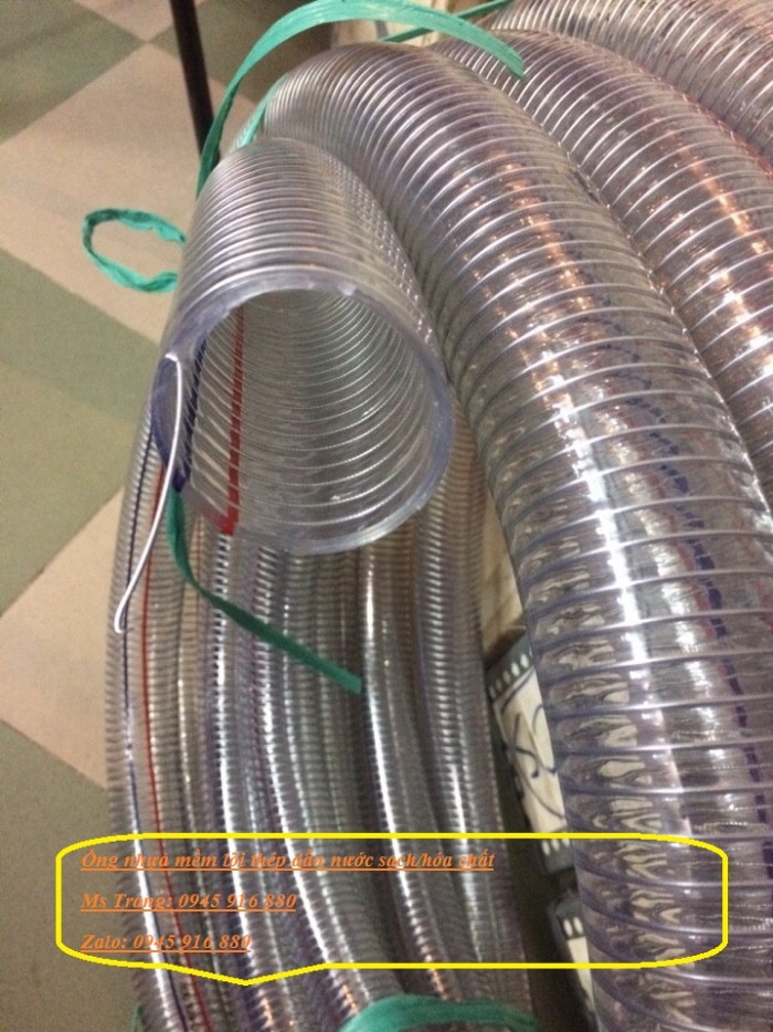 Ống nhựa mềm lõi thép Phi 13 Phi 16 Phi 19 giá tốt nhất Mới 100%, giá38