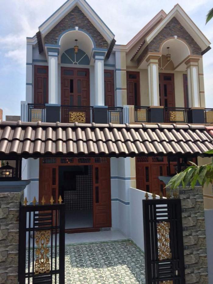 Bán nhà mới xây 1 lầu 1 trệt sổ hồng riêng thổ cư Nguyễn Văn Bứa Hóc Môn