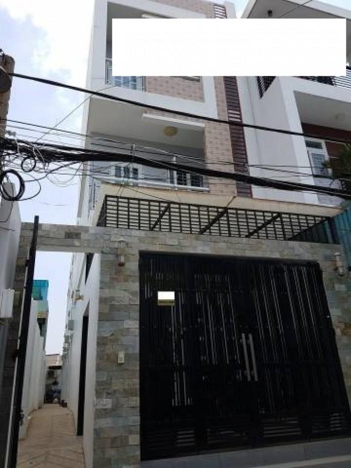 Bán Nhà Hẻm 1264 Lê Đức Thọ, phường 13, quận Gò Vấp, 5,2 x 22m, 1 Trệt + 1 Lửng, 2 Lầu, giá 4,9 tỷ