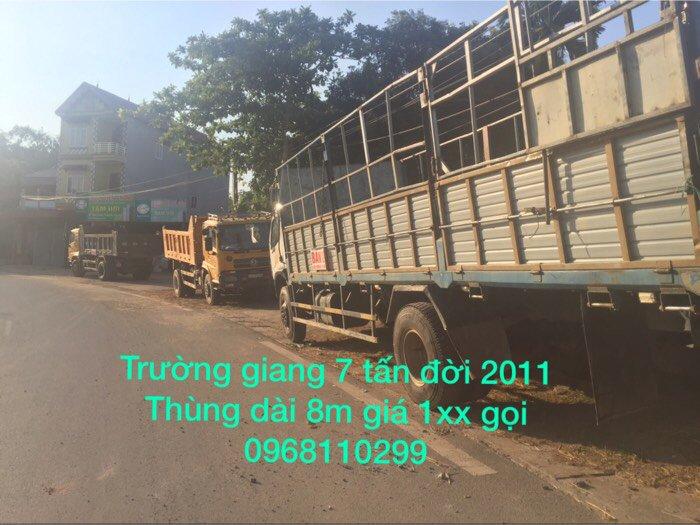 bán xe tải thùng 7 tấn đời 2011 giá cực rẻ 1
