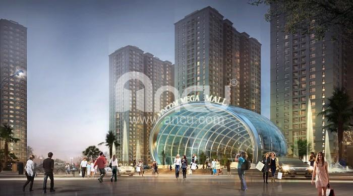 Cho thuê Căn hộ tầng cao Time city rộng 110m2,gồm 2 ngủ full đồ giá cho thuê 14tr