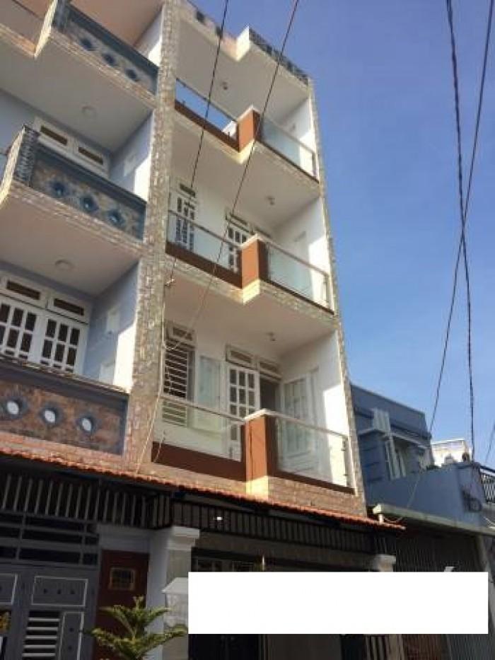 Bán Nhà Hẻm 237 Phạm Văn Chiêu, phường 14, quận Gò Vấp, 4 x 12m, 1 Trệt + 2,5 Lầu, giá 3,45 tỷ