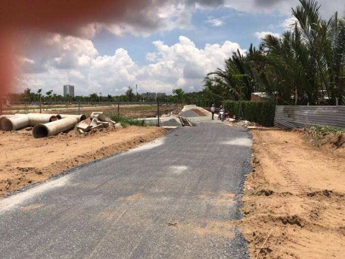 Bán đất nền dự án phú xuân,Nhà Bè,DT:80m,giá:17,2 tr/m