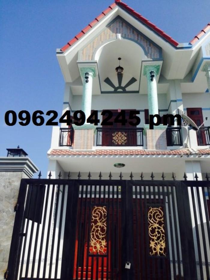 Nhà 1 trệt 1 lầu mặt tiền tỉnh lộ 8 gần ủy ban Tân An Hội Củ Chi