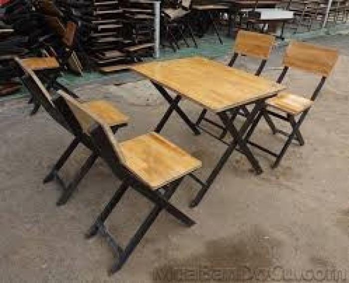 Bàn ghế sắt gỗ chuyên dùng cho quán cafe , quán ăn , bar clup,..0