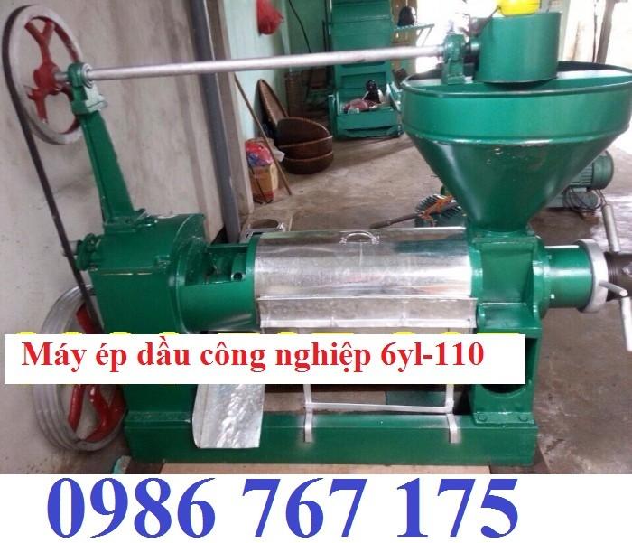Máy ép dầu công nghiệp giá rẻ 6yl-110 ép 200kg/h0