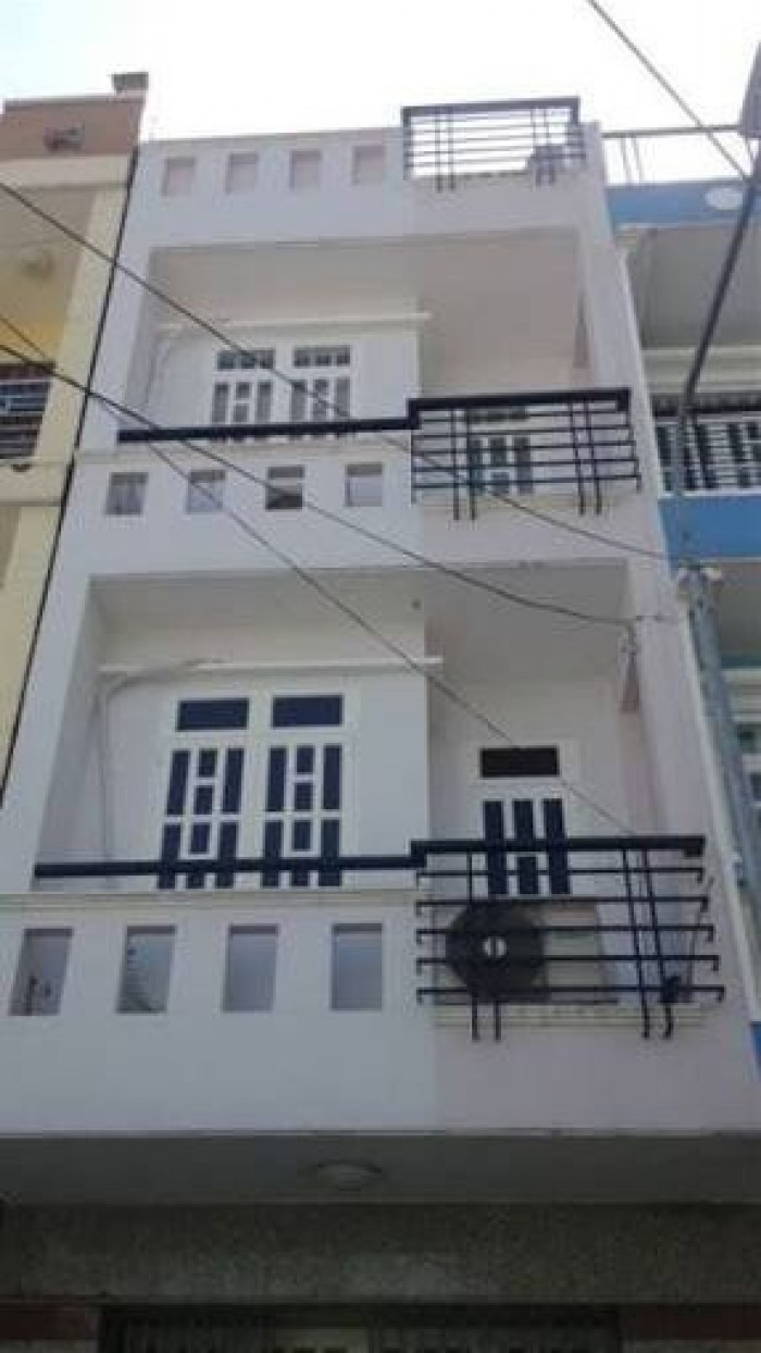 Vợ nợ bán rẻ nhà 3 lầu, hẻm 6m Huỳnh Tấn Phát, Nhà Bè,DT 5x10m.Giá 1,9 tỷ