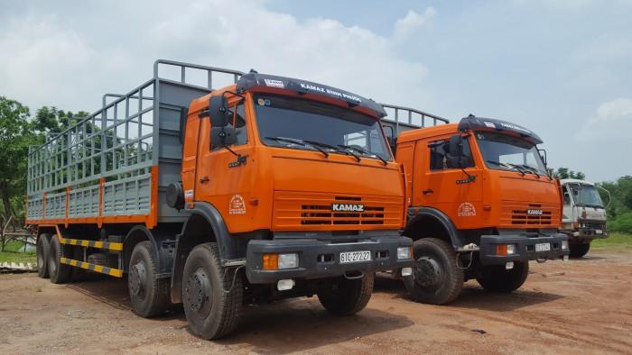 Bán xe tải thùng Kamaz 6540 mới 2016 (Loại 17,9 tấn/ 30 tấn), Kamaz 6540 thùng 2016, Kamaz 4 giò mới 3