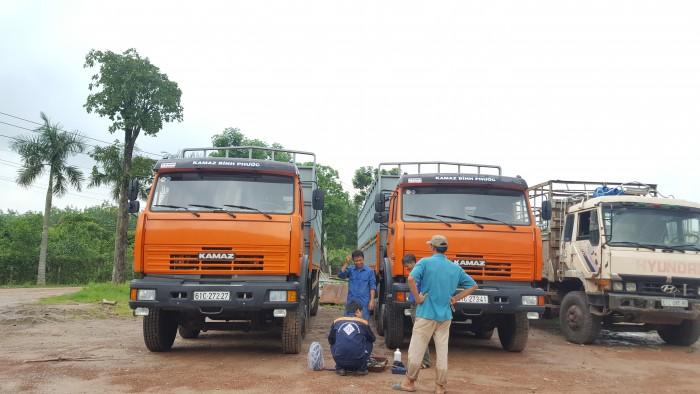 Bán xe tải thùng Kamaz 6540 mới 2016 (Loại 17,9 tấn/ 30 tấn), Kamaz 6540 thùng 2016, Kamaz 4 giò mới 6