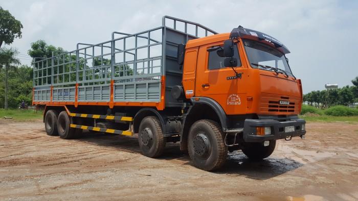 Bán xe tải thùng Kamaz 6540 mới 2016 (Loại 17,9 tấn/ 30 tấn), Kamaz 6540 thùng 2016, Kamaz 4 giò mới 7