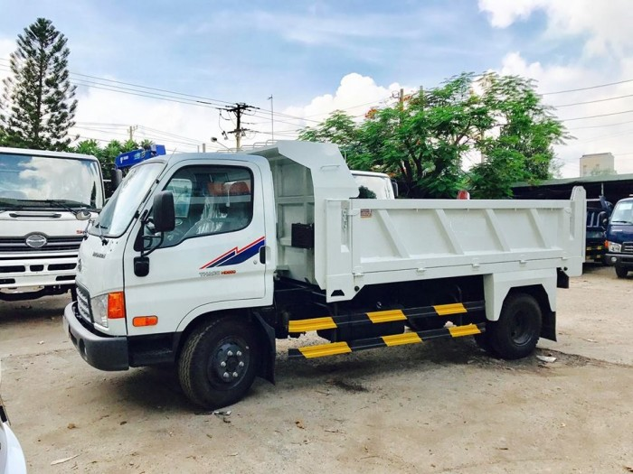 Hyundai Thaco Hd650 Thùng Ben Bửng Mở 5 Khối