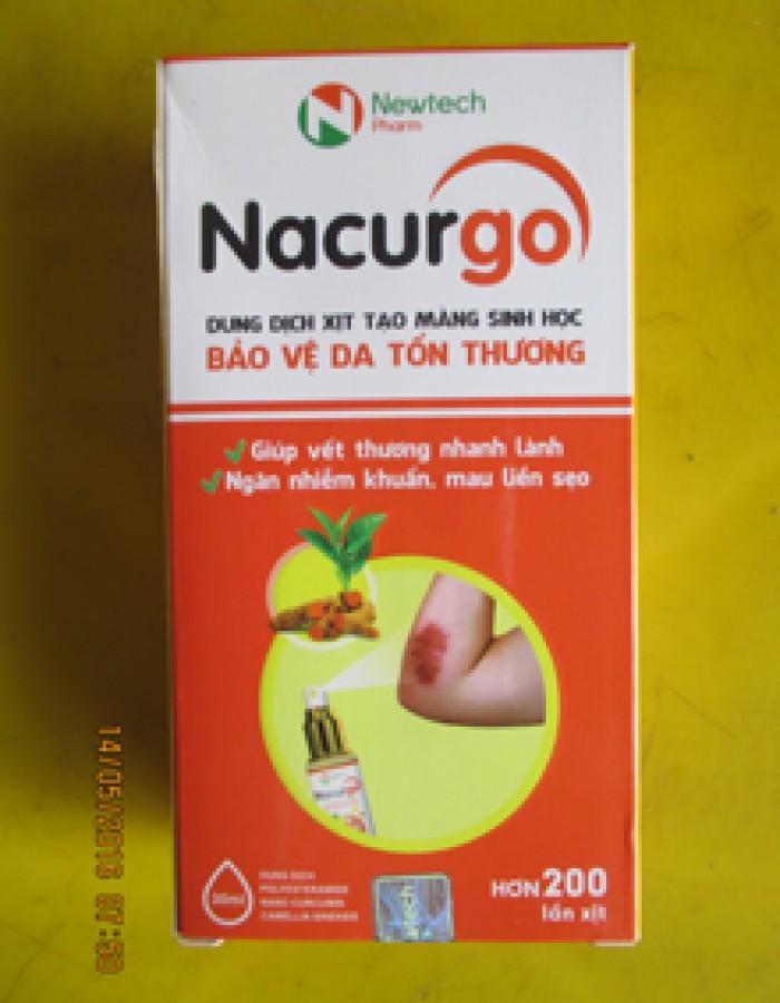 Sản Phẩm NACURGO- Hỗ trợ cầm máu, chữa vết thương tốt