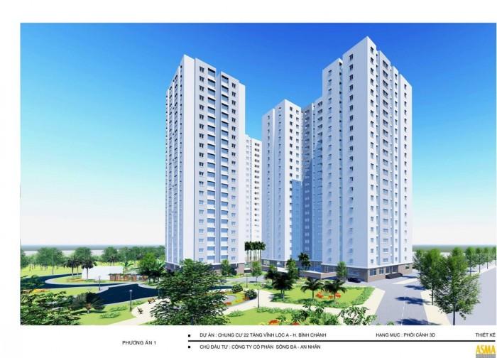 Dự án căn hộ chung cư Vĩnh Lộc D'Gold. Giá rẽ cho mọi người. Chỉ từ 200triệu sở hữu ngay