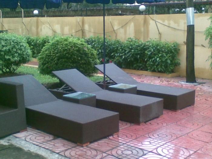 Chuyên  sỉ và lẻ giường tấm nắng và bàn ghế ngoài trời các loại chuẩn xuất khẩu 100%2