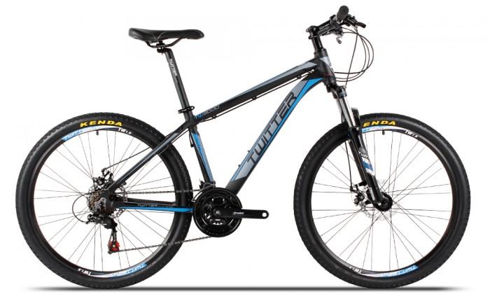 Xe đạp Twitter TW3000 2017, mới 100%, miễn phí giao hàng, màu Đen xanh trời