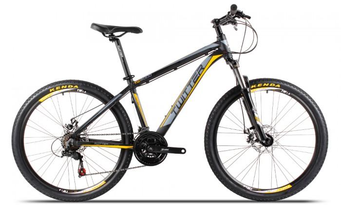 Xe đạp Twitter TW3000 2017, mới 100%, miễn phí giao hàng, màu Đen vàng