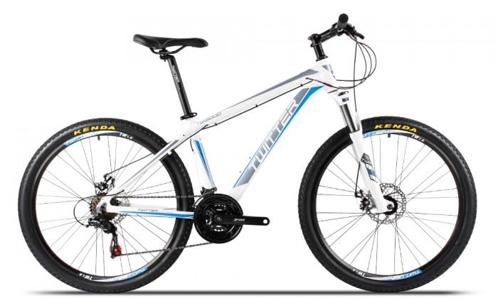 Xe đạp Twitter TW3000 2017, mới 100%, miễn phí giao hàng, màu Trắng xanh trời