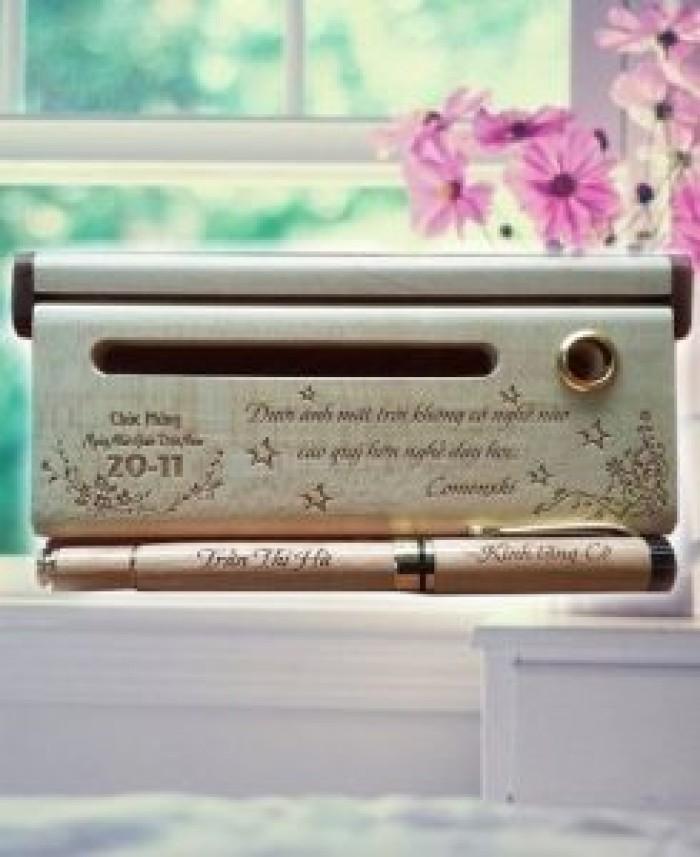 Món quà ý nghĩa tặng thầy cô Bút gỗ0