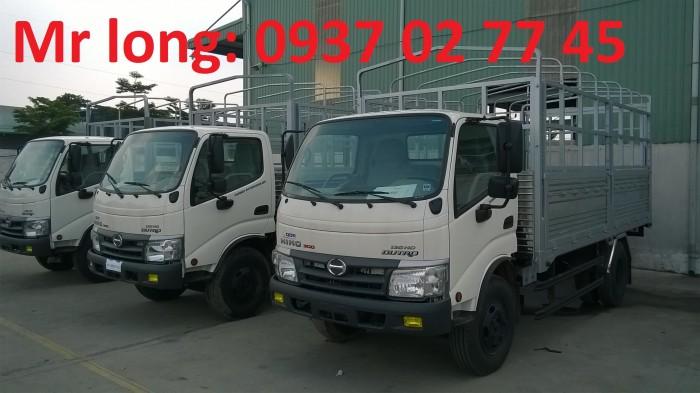 xe HINO 5 tấn , xe tải mui bạt HINO 5 TẤN , HINO DUTRO đóng thùng mui bạt , HINO WU342L mui phủ , giá xe HINO 5 tấn