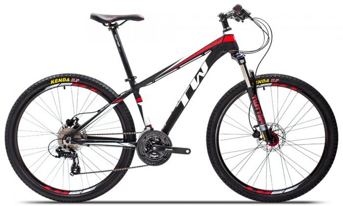 Xe đạp Twitter TW3700XC 2016, mới 100%, miễn phí giao hàng, màu Đen đỏ