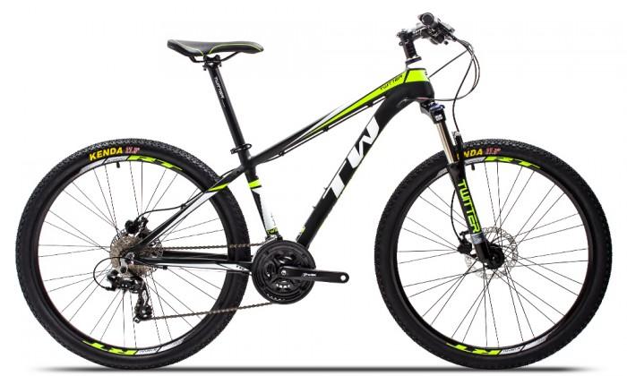 Xe đạp Twitter TW3700XC 2016, mới 100%, miễn phí giao hàng, màu Đen xanh lá
