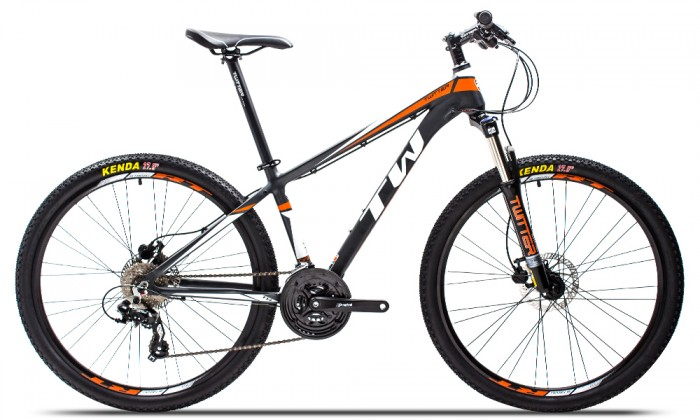 Xe đạp Twitter TW3700XC 2016, mới 100%, miễn phí giao hàng, màu Đen cam