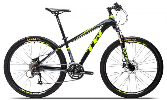 Xe đạp Twitter TW3900XC 2016, mới 100%, miễn phí giao hàng, màu Đen xanh lá