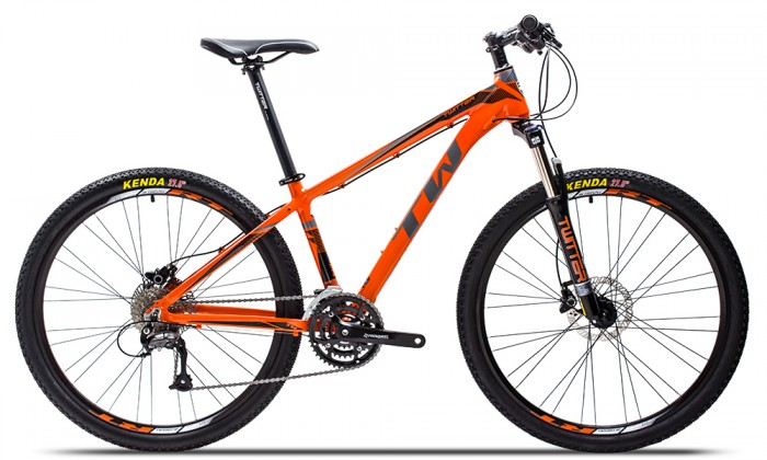 Xe đạp Twitter TW3900XC 2016, mới 100%, miễn phí giao hàng, màu Đen cam