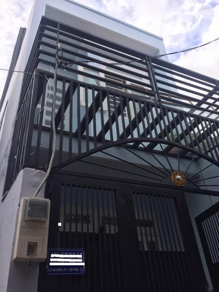 Bán Nhà Hẻm Đường Lê Văn Khương, phường Hiệp Thành, Quận 12