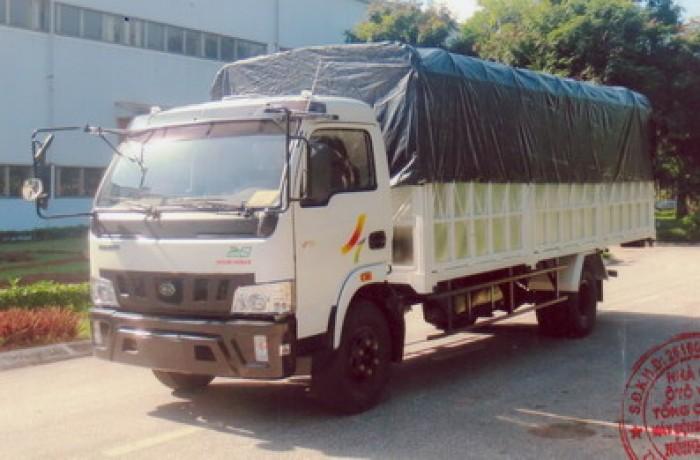 Xe tải 7.5 tấn, máy Hyundai, thùng 6m2 Veam VT750