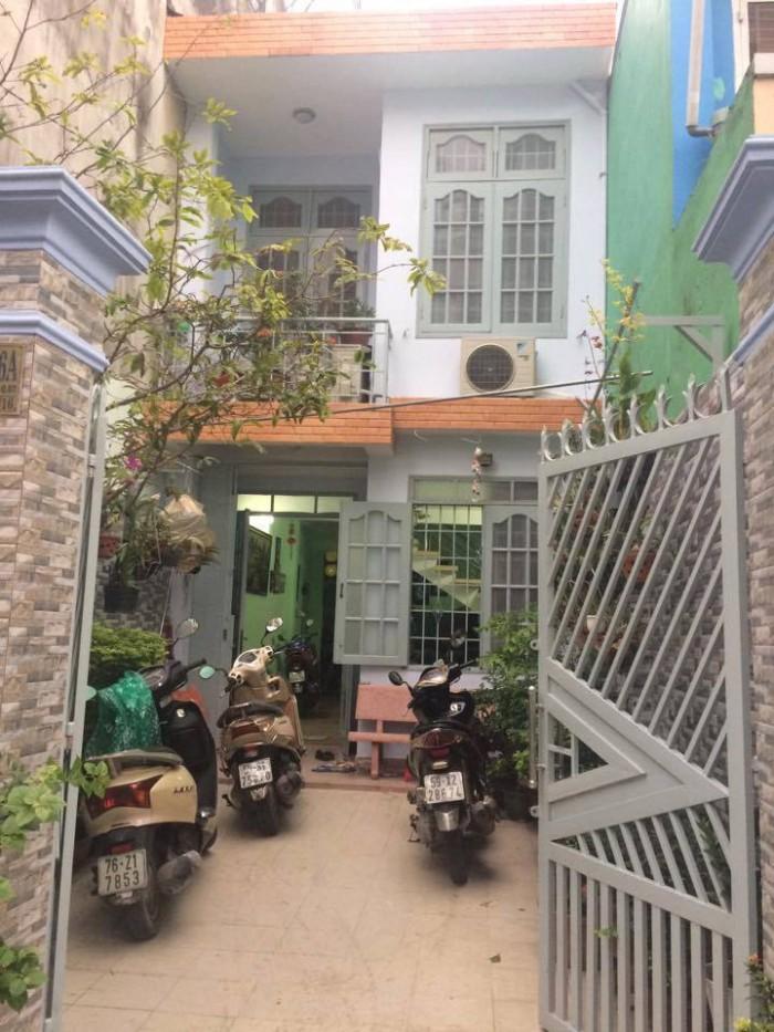 Nhà Nơ Trang Long, Bình Thạnh ,sân để oto ,86m2, giá 4,5 tỷ ( TL)