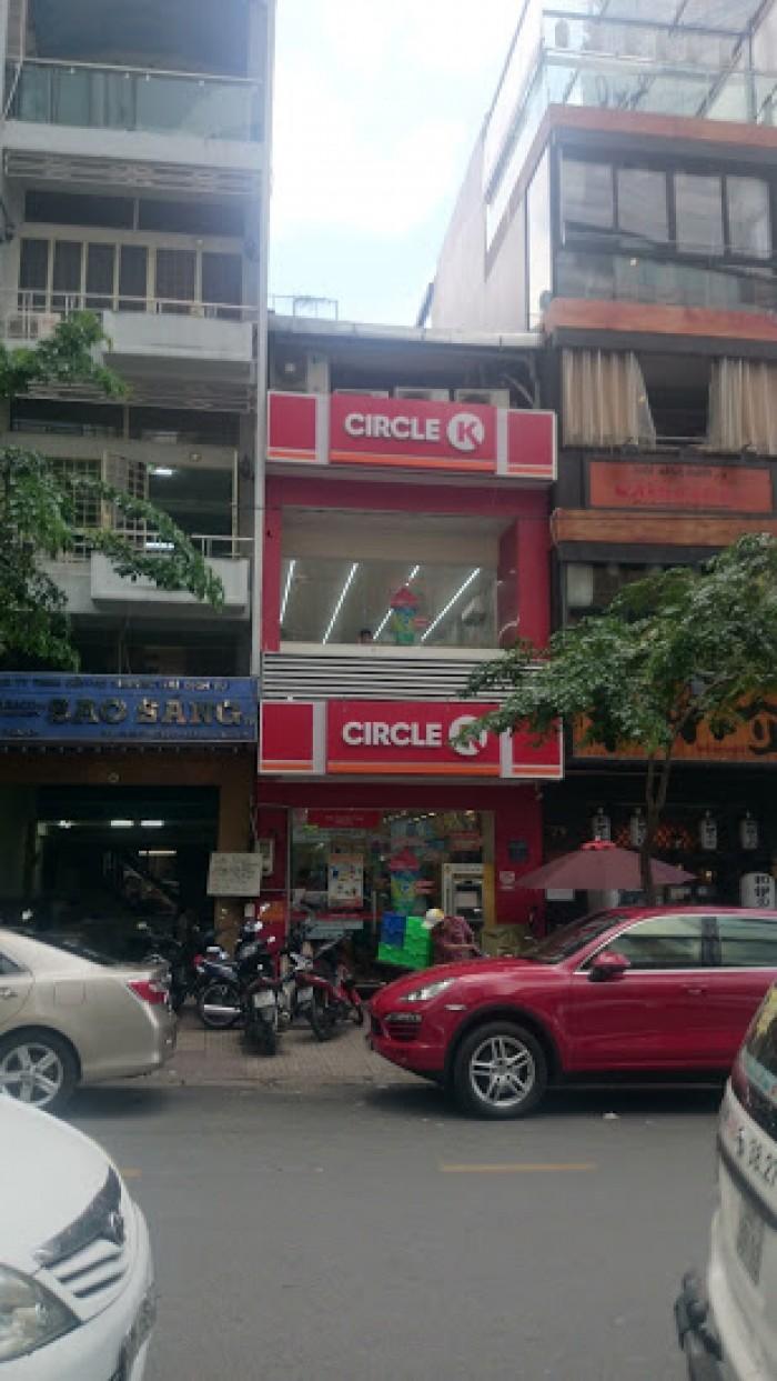 Cho thuê nhà đối diện cổng chính Bitexco số 27 Hải Triều, Quận 1.