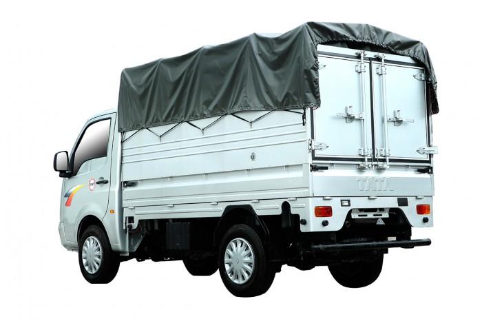 Đại Lý Xe Tải Tata Super Ace Của Ấn Độ Tại Hải Phòng, Thùng Mui Bạt, 1.2 Tấn 1