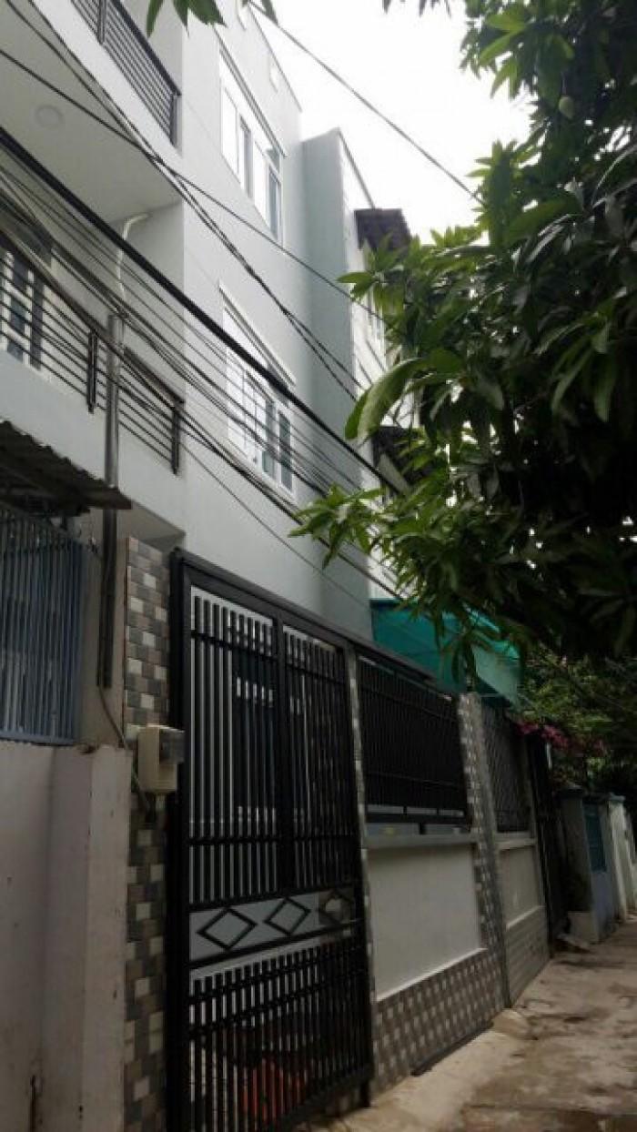 Hàng Hot, bán nhà hẻm xe hơi, DT 6x11m, 1 trệt 2lầu, Gò Ô Môi,Phú Thuận, Q7. Giá 3,4 tỷ