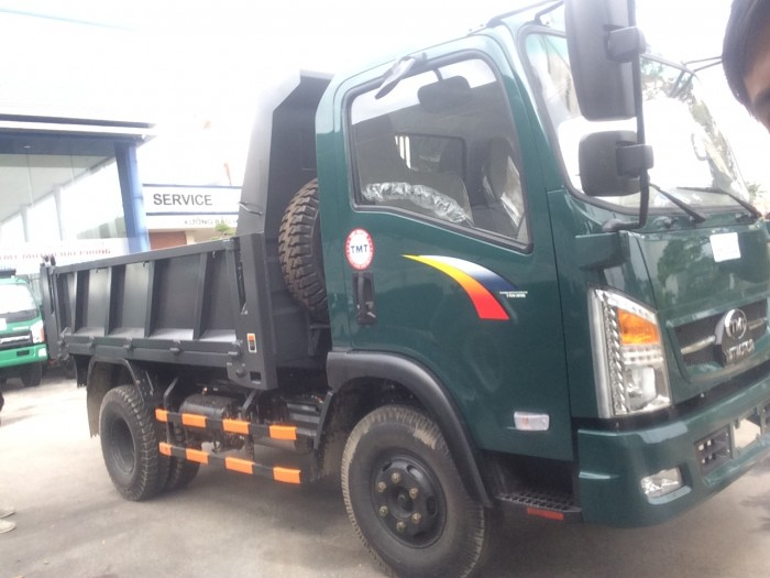 Xe ben Cửu Long TMT tại Hải Phòng, 6.5 tấn, máy Sinotruck 9