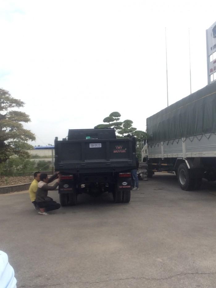 Xe ben Cửu Long TMT tại Hải Phòng, 6.5 tấn, máy Sinotruck 13