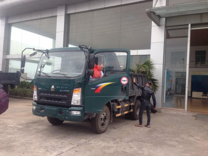 Xe ben Cửu Long TMT tại Hải Phòng, 6.5 tấn, máy Sinotruck 15