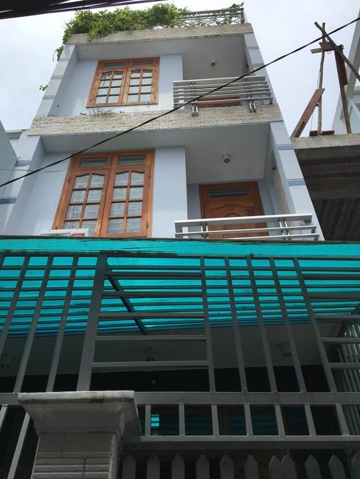 Nhà Đồng Nai, cư xá Bắc Hải, Q.10, 4,2x10m 3 tầng giá 3,85 tỷ.