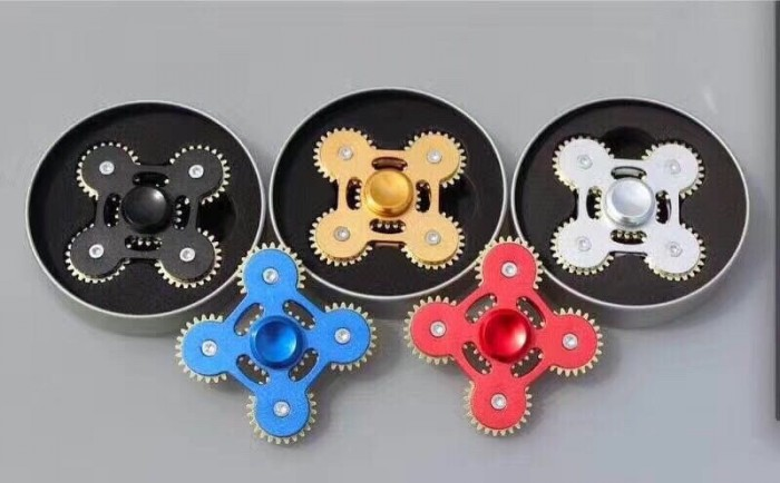 Con Quay Spinner 5 Bánh Răng Kim loại Cao Cấp, Fidget Spinner, Hand Spinner - MSN388186