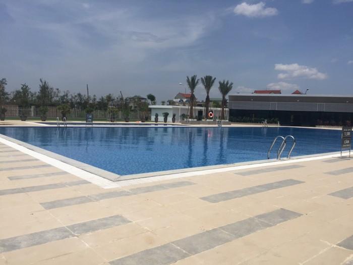 Bán biệt thự, liền kề mặt đường lê trọng tấn (136m2,4T) có hồ bơi,trường học,sân tenis