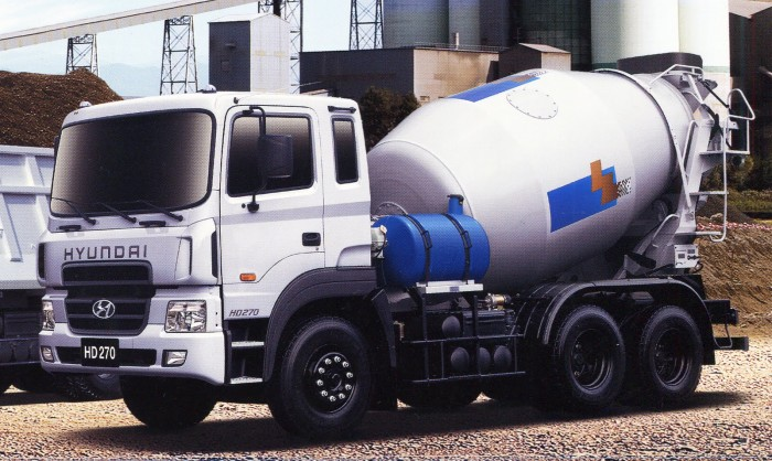 Bán trả góp Xe trộn bê tông Hyundai HD270-7 Khối nhập khẩu 2016. Giá rẻ nhất 3