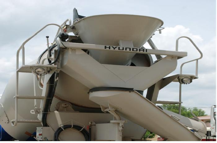 Bán trả góp Xe trộn bê tông Hyundai HD270-7 Khối nhập khẩu 2016. Giá rẻ nhất 2
