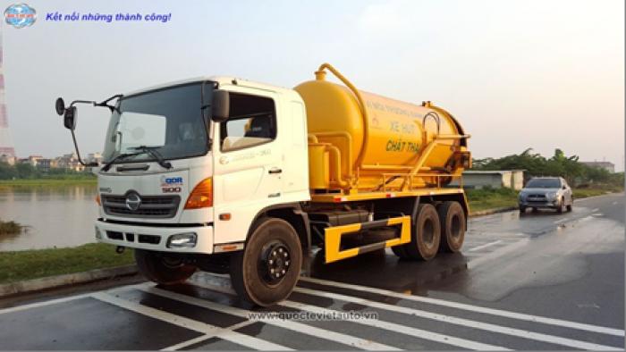 Xe hút chất thải DongFeng nhập khẩu.  dung tích 6 khối 2