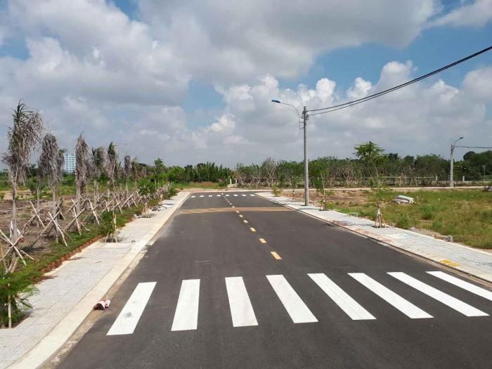 Cần bán đất Long Phước, ngay chợ Long Phước, chỉ 7500tr/55m2, sổ hồng riêng.
