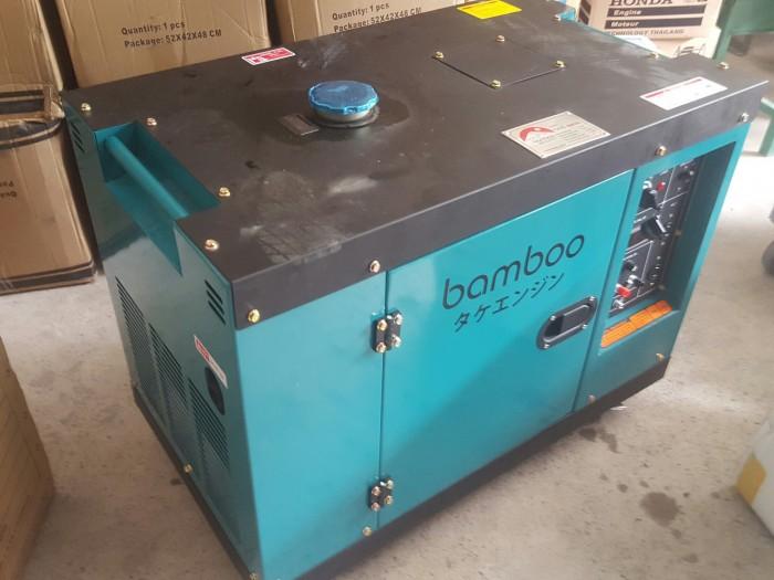 máy phát điện chạy dầu vỏ chống ồn1