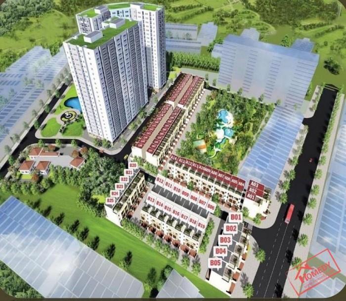 Căn hộ nhà ở xã hội Vĩnh Lộc D'Gold 200 Tr ngân hàng cho vay 70%