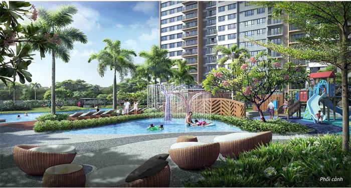 Bán căn hộ Palm Heights An Phú Q2. Block T1. Căn số 01.View Sông