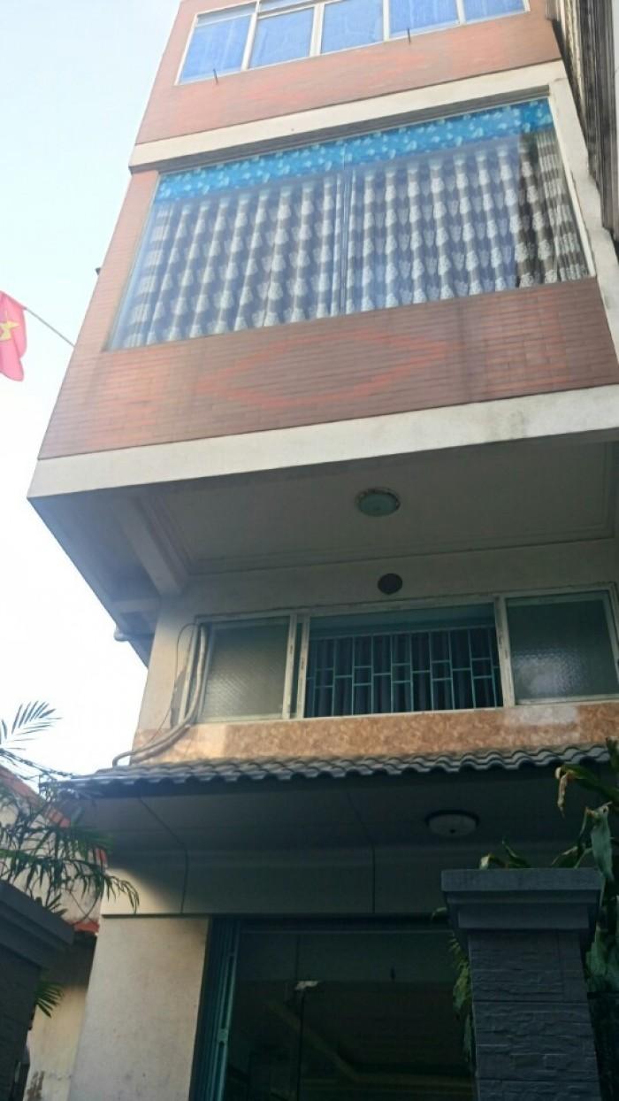 Bán nhà 3,5 tầng xây độc lập, ngõ 375 Lê Lợi, dt 61m2, hướng Đông bắc, giá 2.050 tỷ